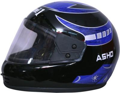 azone1 Full-Face Men & Boys Bike Riding Unbreakable Motorbike Helmet Motorbike Helmet(Blue)