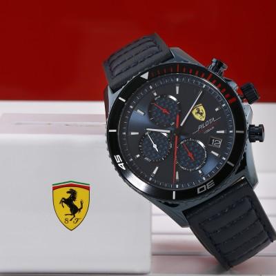 SCUDERIA FERRARI 0830774 Pilota Evo Analog Watch   For Men SCUDERIA FERRARI Wrist Watches
