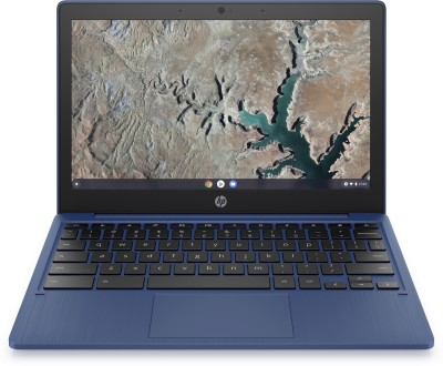 HP Chromebook MT8183 - (4 GB/64 GB EMMC Storage/Chrome OS) 11A-NA0002MU Chromebook(11.6 inch, Indigo Blue, 1.07 kg)