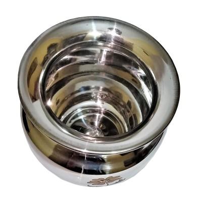 India Pride Stainless Steel Heavy Lota Kalash / Chambu / Tumbler for Pooja, Pongal, Marriage, Karvachauth (Wt 290 Gram, Big Size - 1000 ml) Stainless Steel Kalash(Steel)