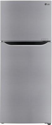 LG 260 L Frost Free Double Door Top Mount 3 Star Convertible Refrigerator(Shiny Steel, GL-T292SPZX)