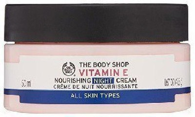 THE BODY SHOP VITAMIN E NOURISHING NIGHT CREAM DE NUIT(50 ml)