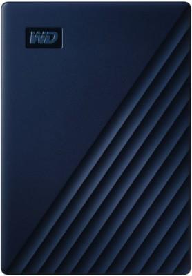 WD My Passport for Mac 5 TB External Hard Disk Drive(Blue)