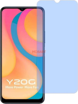 MOBART Tempered Glass Guard for VIVO Y20G (Impossible AntiBlue Light)(Pack of 1)