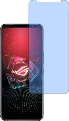 MOBART Tempered Glass Guard for ASUS ROG PHONE 5 PRO (Impossible AntiBlue Light)(Pack of 1)