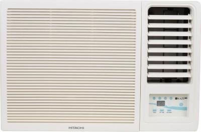 Hitachi 1 Ton 5 Star Window AC - White(RAW511HEDO, Copper Condenser)