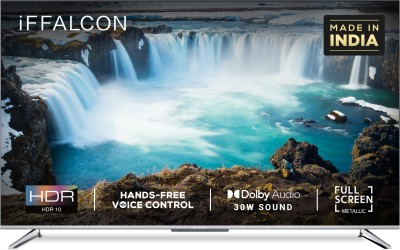 iFFALCON by TCL 138.6 cm (55 inch) Ultra HD (4K) LED Smart Android TV with HandsFree Voice Search(55K71)