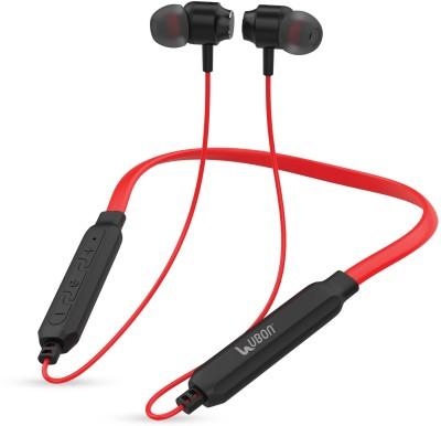 Ubon CL-20FB Wireless Neckband | Built-in 6hrs Bluetooth Headset(Red, True Wireless)