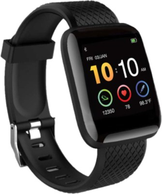 Rhobos Heart rate Band for All Boys & Girls Smartwatch(Black...