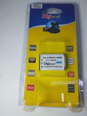 Digicare Enel11 Battery 1300mah for Nikon -S550,S560 Camera Battery Camera Battery Charger(White)