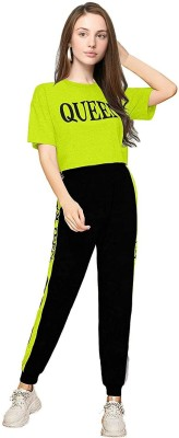 Griva Fashion Street Printed Women Track Suit