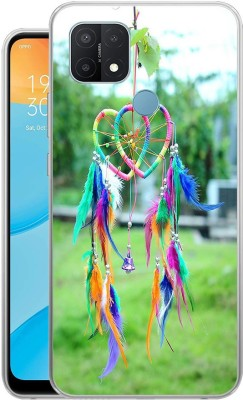 mobom Back Cover for Oppo A15(Multicolor, Dual Protection, Silicon)