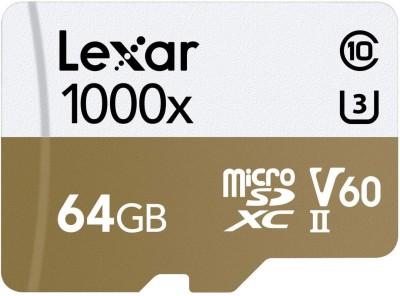 Lexar Professional 64 GB SDXC Class 2 150 MB/s Memory Card