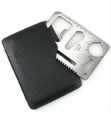 7Trees Credit Card Knife Camping Multi Tool(Silver)