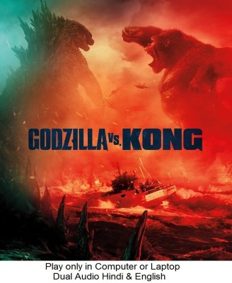 Godzilla vs. Kong 2021 in Hindi & English it's DURN DATA DVD play only in computer or laptop it's not original without poster HD print quality(DVD Hindi)