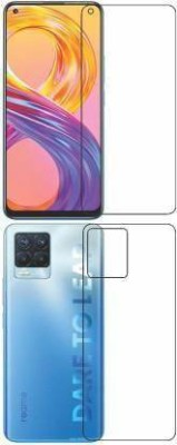 FIRST IMPRESSION Front and Back Tempered Glass for Realme 8 Pro(Pack of 2)