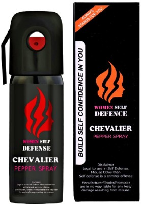 CHEVALIER Women Self Defence Pepper Spray for Safety/Protection, Compact Size with Clip   Max Protection - 45 shots   55...