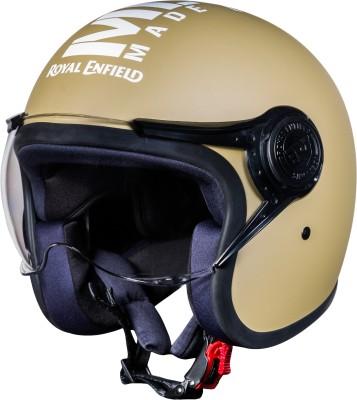 ROYAL ENFIELD Open Face MLG (V) Motorbike Helmet(Matt Desert Storm)