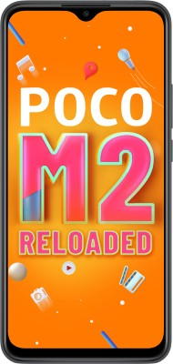 POCO M2 Reloaded (Greyish Black, 64 GB)(4 GB RAM)