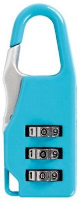 fast travel Luggage Bags Mini Digital Number Lock Pack Of 1 Lock Safety Lock(Blue)