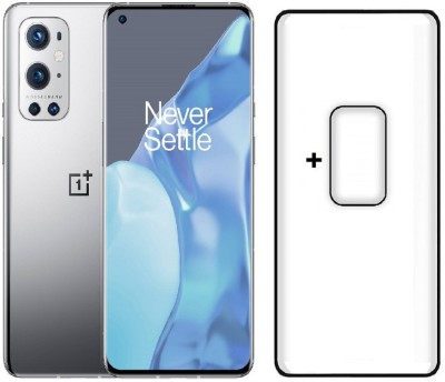 Msons Screen Guard for OnePlus 9 Pro | Combo Pack Offer, Full Glue 9H Hardness Tempered Glass & Flexible Camera Lens Protector(Pack of 2)