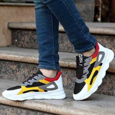 Deals4you Running Shoes For Men(Multicolor)