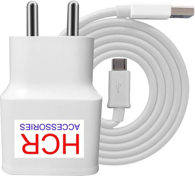 HCR ACCESSORIES USB CHARGER 1.5AMP 1.5 A Mobile Charger with Detachable Cable White