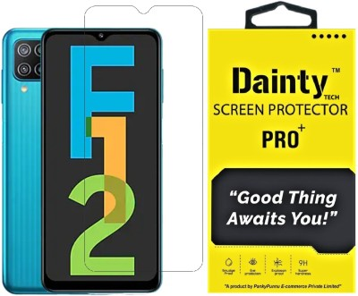 Dainty TECH Tempered Glass Guard for Samsung Galaxy F12, Samsung Galaxy F02s, Samsung Galaxy M02s, Samsung Galaxy M02, Samsung Galaxy M12, Samsung Galaxy M42 5G(Pack of 1)