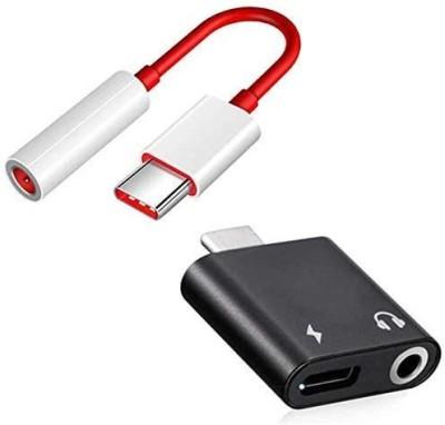 Ravbelli USB Type C, USB, USB Type C OTG Adapter(Pack of 2)