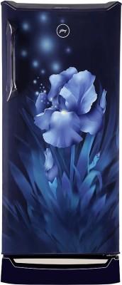 Godrej 215 L Direct Cool Single Door 4 Star Refrigerator with Base Drawer(Aqua Blue, RD UNO 2154 PTDI AQ BL)
