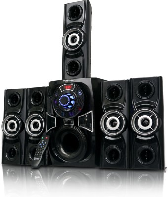 Night Guard BULLET 70 W Bluetooth Home Theatre(Black, 5.1 Channel)