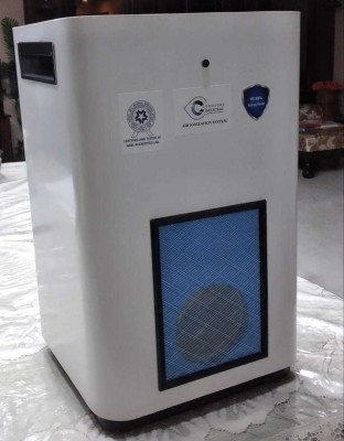 CYNOSURE INDUSTRIES CYNOSURE AIR IONIZATION AND SANITIZATION SYSTEM Portable Room Air Purifier(WHITE)