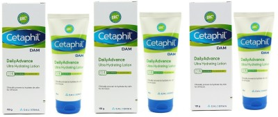 Cetaphil DAM Daily Advance Ultra Hydrating Lotion - Pack of 3(100 g)