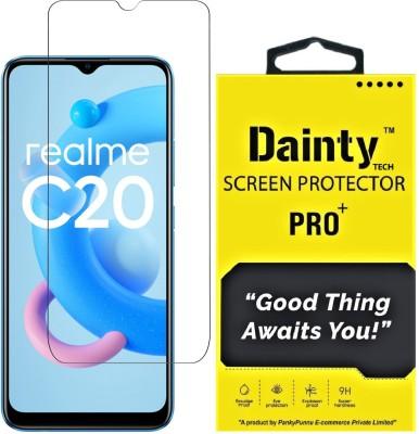Dainty TECH Tempered Glass Guard for Realme C20, Realme C21, Realme C25, Realme C11, Realme C12, Realme Narzo 20, Realme Narzo 20A, Realme Narzo 30A, Mi Redmi 9A, Mi Redmi 9, Mi Redmi 9i, Poco C3, Realme C21Y(Pack of 1)