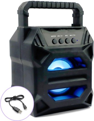 FRAONY 2021 NEW ARRIVAL Mini Home theater portable Bluetooth outdoor wireless bass speaker Rechargeable Amplifier Wireless |3D sound| Splash proof| Water resistant| Extra Baas Stereo sound quality | Most popular|Led Colour Changing Lights | AUX supported| wireless Speaker| Long hour battery Life 10