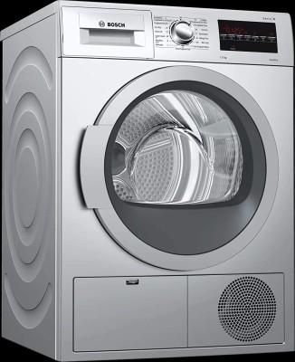 BOSCH 7 kg Dryer with In-built Heater Silver(WTG86409IN)