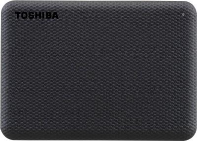 TOSHIBA Canvio Advance 1 TB External Hard Disk Drive(Black)