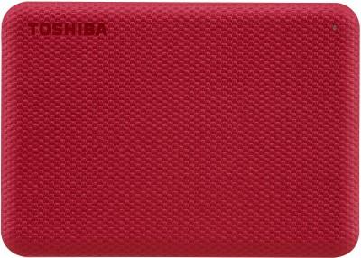 TOSHIBA Canvio Advance 1 TB External Hard Disk Drive(Red)