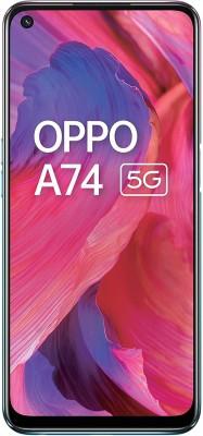OPPO A74 5G (Fantastic Purple, 128 GB)(6 GB RAM)