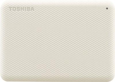 TOSHIBA Canvio Advance 1 TB External Hard Disk Drive(White)
