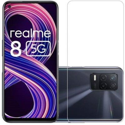 ECMERED Tempered Glass Guard for REALME 8 5G(Pack of 1)