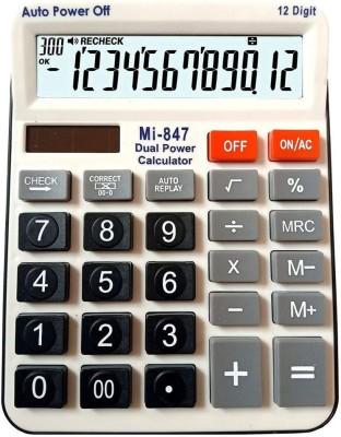 Ornate mi - 847 Basic Calculator (12 Digit) 847 Basic Calculator(12 Digit)