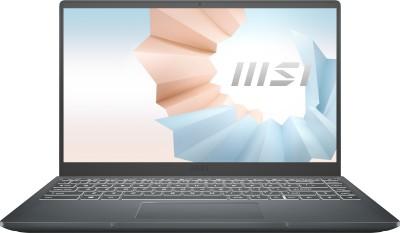 MSI Modern 14 Ryzen 5 Hexa Core 4500U - (8 GB/512 GB SSD/Windows 10 Home) Modern 14 B4MW-410IN Notebook(14 inch,...