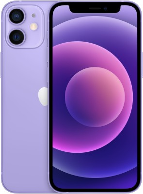 APPLE iPhone 12 Mini (Purple, 128 GB)
