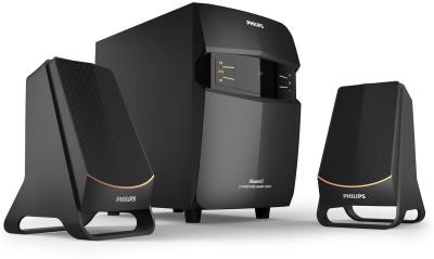 PHILIPS MMS2550B/94 Dhoom 28 watts Bluetooth Home Theatre(Black, 2.1 Channel)
