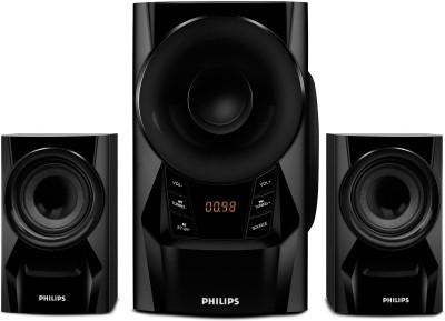 PHILIPS MMS6080B/94 60 W Portable Bluetooth Laptop/Desktop Speaker(Black, 2.1 Channel)