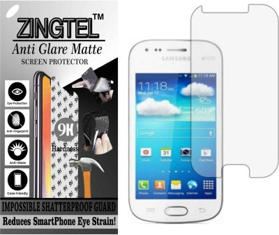 ZINGTEL Tempered Glass Guard for SAMSUNG GALAXY S DUOS 2 S7582 (Matte Flexible Shatterproof)(Pack of 1)