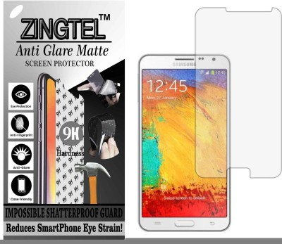 ZINGTEL Tempered Glass Guard for N7505 (SAMSUNG GALAXY NOTE 3 NEO) (Matte Flexible Shatterproof)(Pack of 1)