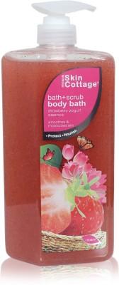 Skin Cottage BATH SCRUB STRAWBERRY YOGURT 1L Scrub(1000 ml) 1