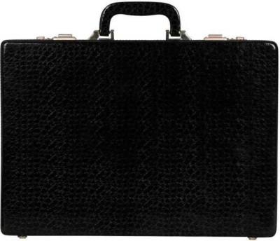 sallow Business Travel, Executive Medium Briefcase - For Men & Women(Black)